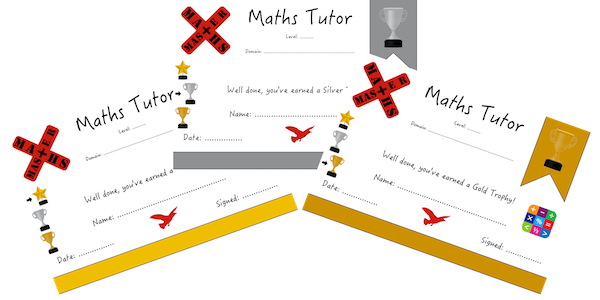 Maths Master Trophies